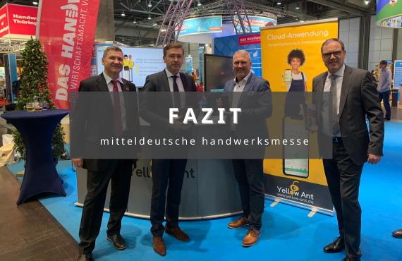 Fazit der mitteldeutschen Handwerksmesse in Leipzig software gebäudereinigung