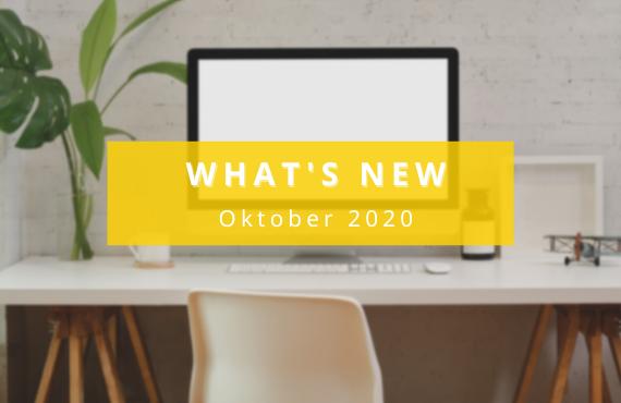 Updates aus dem Oktober 2020