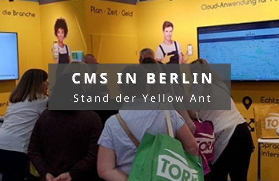 Messe CMS Berlin software gebäudereinigung