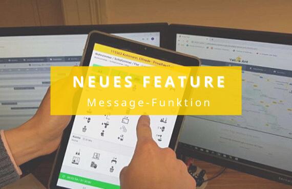 Update Message-Funktion YA Clean App