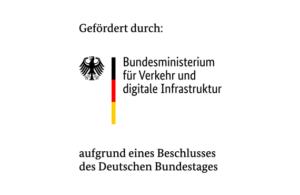 Logo Förderung Bundesministerium für Verkehr und digitale Infrastruktur