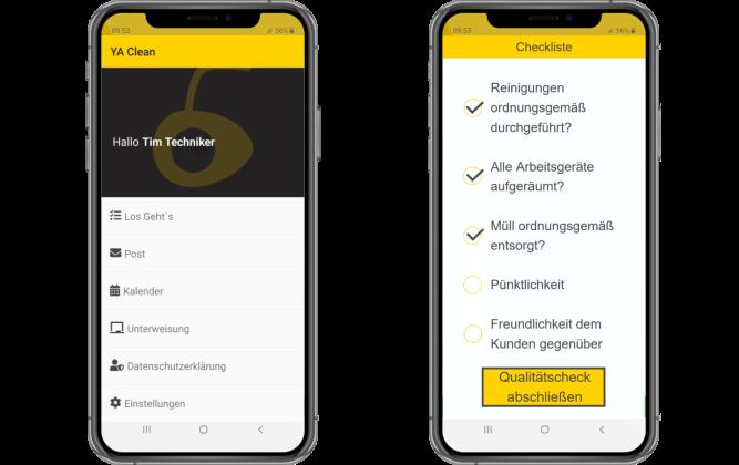 Qualitätssicherung Yellow Ant