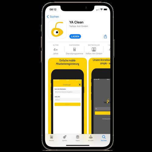 Screenshot App Store iOS
