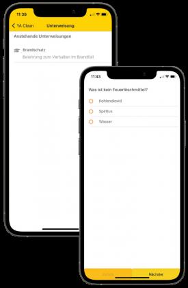 Smartphone Unterweisungen