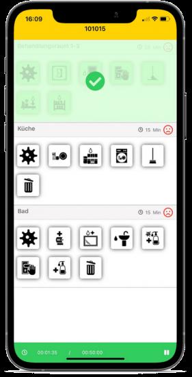 Auftragsbearbeitung App